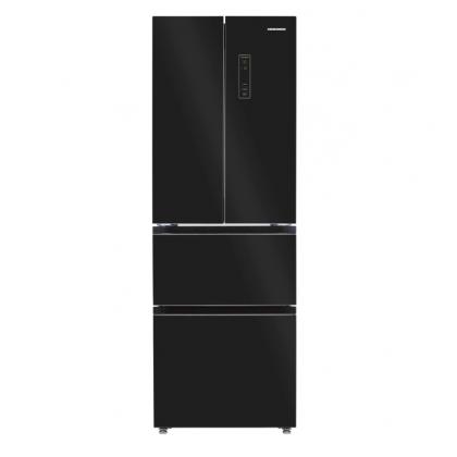 Хладилник с фризер Heinner HCFD-H320GBKE - Изображение
