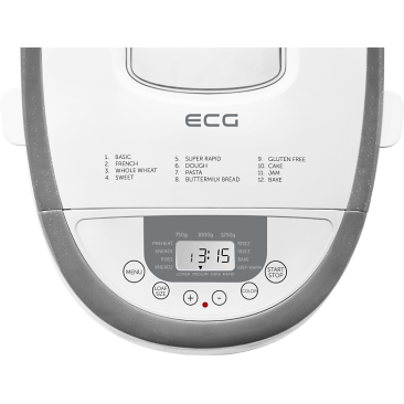 Хлебопекарна ECG PCB 82120 - Изображение 4