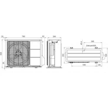 Климатик General Fujitsu ASHG18LFCA/AOHG18LFC - Изображение 5