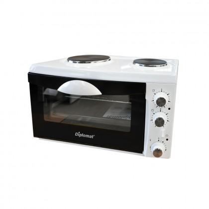 Малка готварска печка Diplomat NP-3332W - Изображение