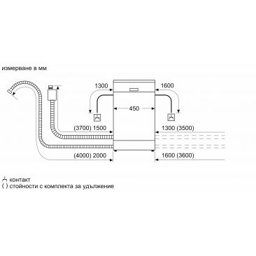 Съдомиялна за пълно вграждане Bosch SPV4EKX20E - Изображение 8