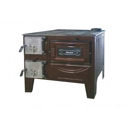 Готварска печка с една фурна ТК 203 - Изображение