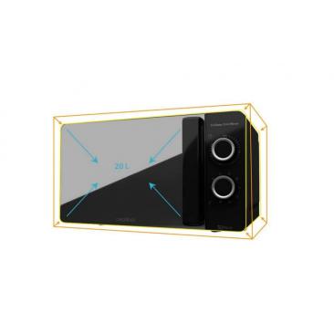Микровълнова фурна Cecotec ProClean 3140 Mirror - Изображение 2