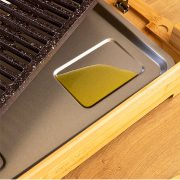 Електрическа скара Cecotec Tasty&Grill 2000 Bamboo LineStone - Изображение 6