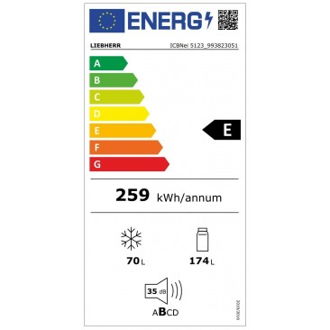 Хладилник за вграждане Liebherr ICBNei 5123 Plus BioFresh NoFrost - Изображение 1