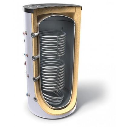 Буферeн съд за отоплителна инсталация с два топлообменника TESY V15/7 S2 500 75 F42 P6 - Изображение