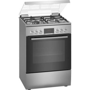 Свободностояща комбинирана готварска печка с газови котлони Bosch HXN39BD50 - Изображение 1