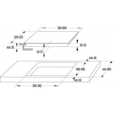 Стъклокерамичен плот за вграждане Gorenje ECT648ORAW - Изображение 2