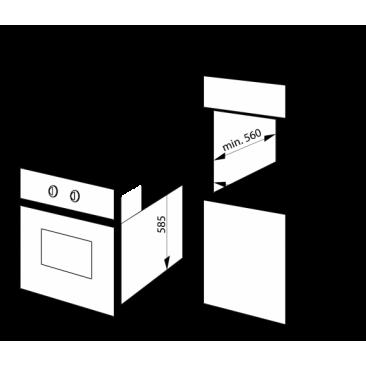 Фурна за вграждане Hansa BOES68161 - Изображение 1