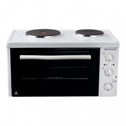 Малка готварска печка Snaige SN-2802R W - Изображение