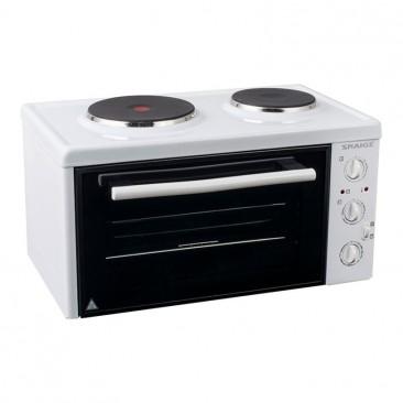Малка готварска печка Snaige SN-2802R W - Изображение 2