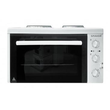 Малка готварска печка Snaige SN-2802R W - Изображение 3