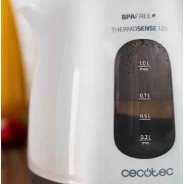Електрическа кана Cecotec ThermoSense 120 - Изображение 5