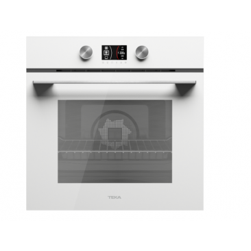 Фурна за вграждане Teka HLB 8600 Бяло стъкло - Изображение 2