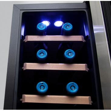 Виноохладител Cecotec Grand Sommelier 800 CoolWood - Изображение 4