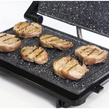 Kонтакт грил Cecotec Rock'n grill 750 Full Open - Изображение 2