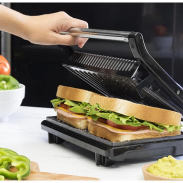 Kонтакт грил Cecotec Rock'n grill 750 Full Open - Изображение 3