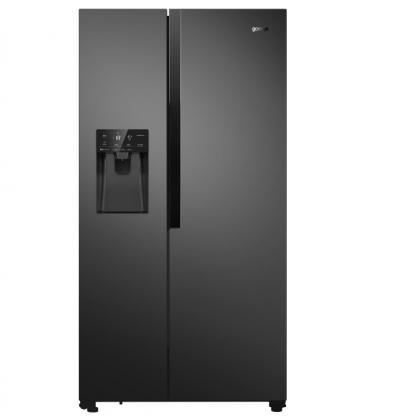 Side by side хладилник Gorenje NRS9182VB - Изображение