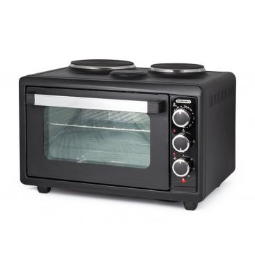 Малка готварска печка Termomax TC38BK - Изображение 3