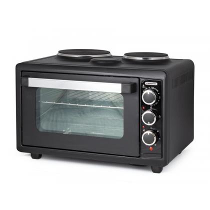 Малка готварска печка Termomax TC38BK - Изображение