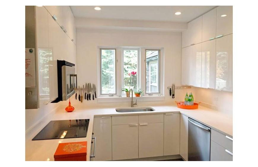 Как да направим малката кухня удобна и красива ?